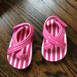 Shoes - Pink Baby Sandals/Pool Shoes